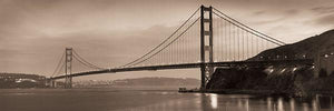 "Golden Gate Bridge II by Alan Blaustein - 12 X 36"" - Fine Art Poster."