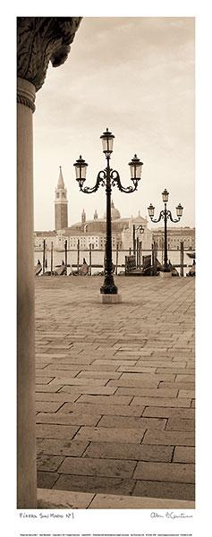 Piazza San Marco No. 1 by Alan Blaustein - 10 X 24