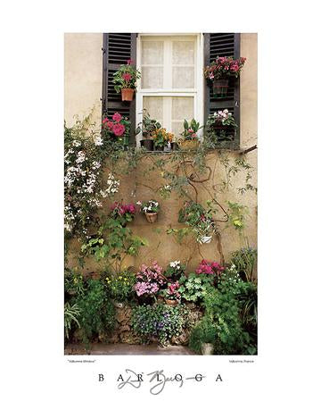 Valbonne Window by Dennis Barloga - 22 X 28