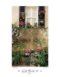 "Valbonne Window by Dennis Barloga - 22 X 28"" - Fine Art Poster."