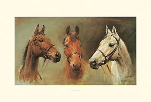"We Three Kings by Susan Crawford - 21 X 31"" - Fine Art Poster."