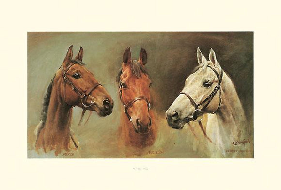 We Three Kings by Susan Crawford - 21 X 31