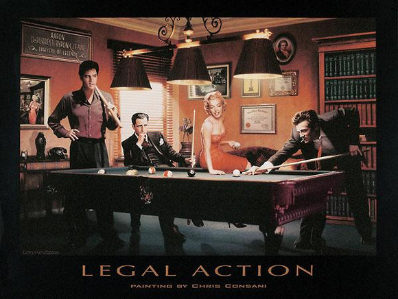 Legal Action by Chris Consani - 24 X 32