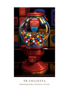 "Gumball Machine IV by TR Colletta - 22 X 28"" - Fine Art Poster."