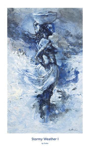 Stormy Weather I by Johanne Cullen - 20 X 33 inches - Fine Art Poster.