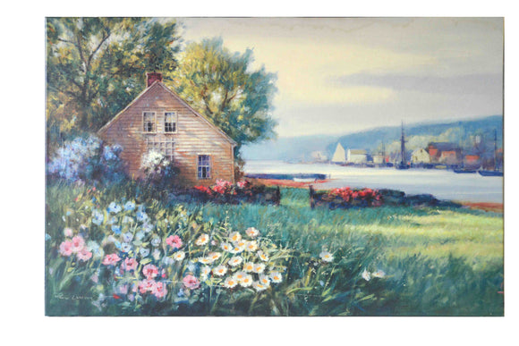Harbor View - (Giclee Canvas Ready to Hang)