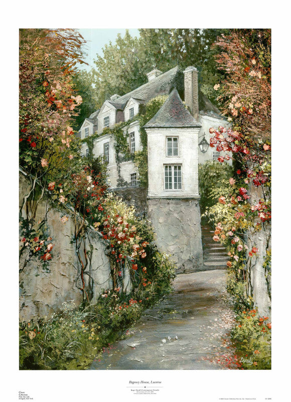 Regency House, Lucerne by Roger Duvall - 28 X 38
