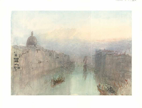 Sunset in The Grand Canal, Venice by Joseph Turner - 11 X 15