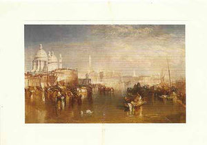 "Venice, 1840 by Joseph Turner - 5 X 7"" (Greeting Card)"