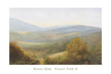 Valley View II by Elissa Gore - 24 X 36