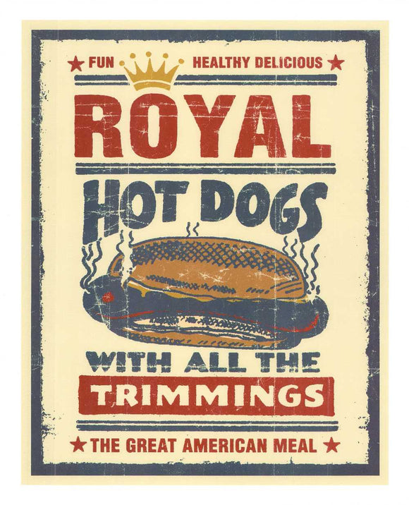 Royal Hot Dogs by Joe Giannakopoulos - 18 X 22