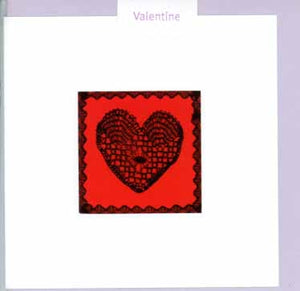 "Message Inside: ""With Love on Valentine's Day"" by Teyras - 5 X 5 Inches (Greeting Card)"