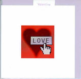 "Message Inside: ""With Love on Valentine's Day"" by Schwster- 5 X 5 Inches (Greeting Card)"