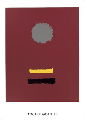 Untitled, 1969 by Adolph Gottlieb - 28 X 40
