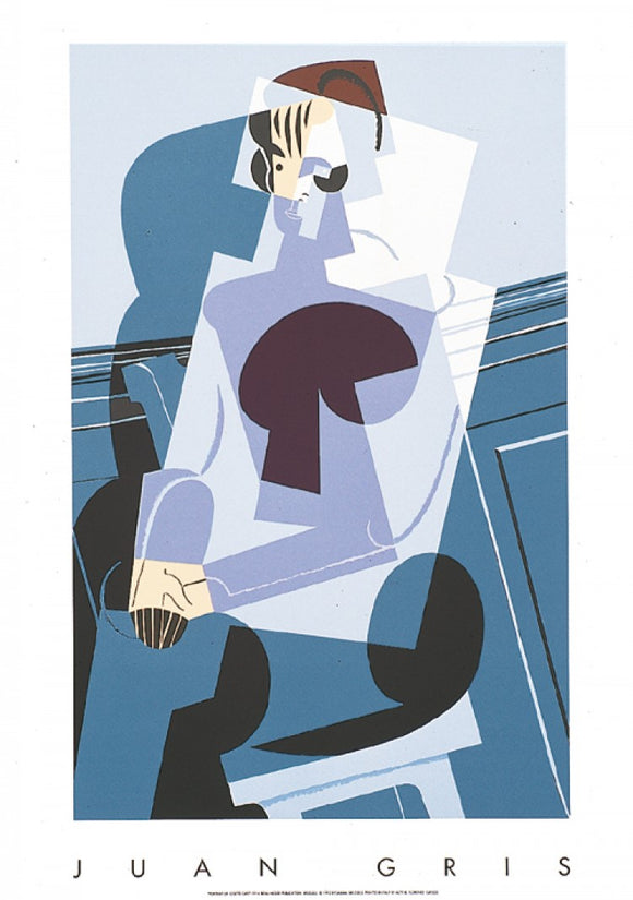Portrait of Josette Gris, 1916 by Juan Gris - 28 X 40