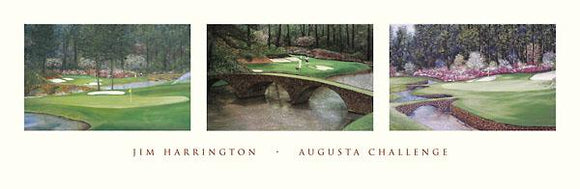 Augusta Challenge by Jim Harrington - 12 X 36
