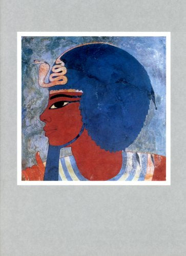 Egyptian painting - Amenophis III - 5 X 7 Inches (Greeting Card)