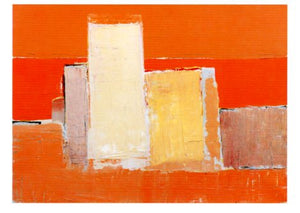 Landscape, 1954 by Nicolas de Stael - 5 X 7 Inches (Greeting Card)