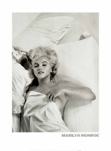 Marilyn Monroe by Eve Arnorld - 24 X 32 Inches - Fine Art Poster.