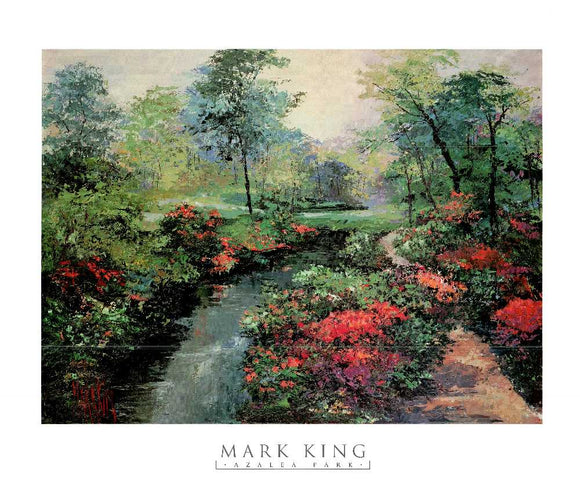 Azalea Park by Mark King - 30 X 34