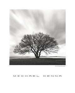 "Night Clouds by Michael Kenna - 24 X 30"" - Fine Art Poster."
