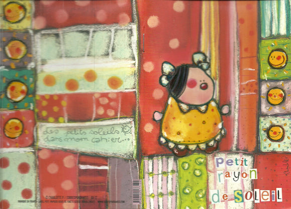Small Lined Notebook by Charlotte P. - 4 X 6