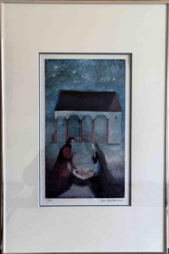 Nativite (Framed Lithograph Numbered & Signed) 107/150