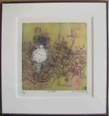 Rencontre (Framed Lithograph Numbered & Signed) 60/99