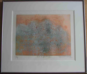 Midi au printemps (Framed Lithograph Numbered & Signed) 81/99