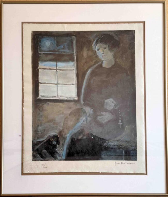 Marie Chapdeleine (Framed Lithograph Numbered & Signed) 121/125
