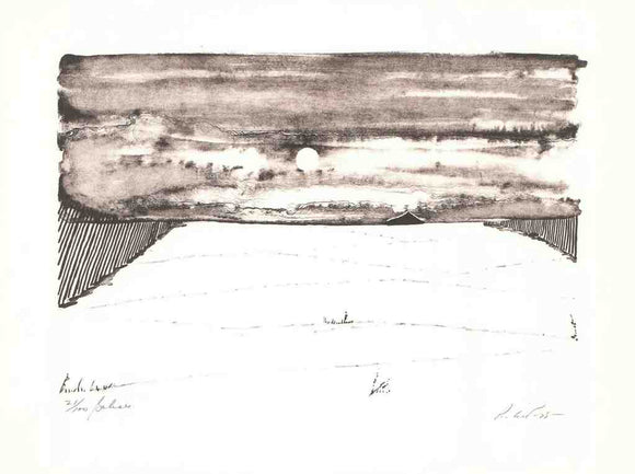 Beacons, 1975 - (Etching Titled, Numbered & Signed) 21/100