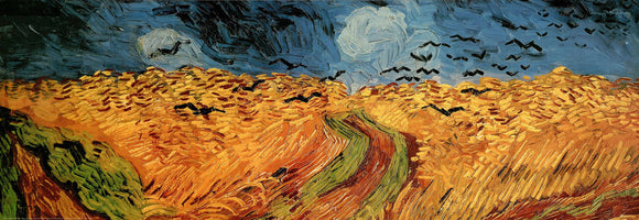 Wheatfield with Crows by Van Gogh - 20 X 60