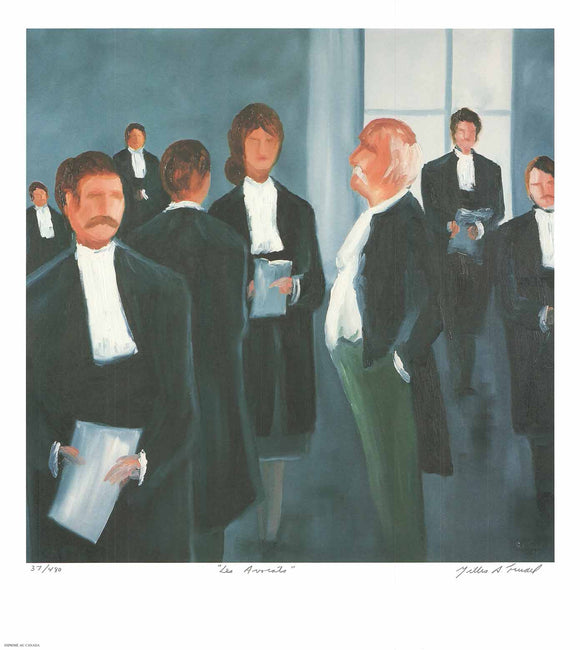 The Lawyers by Gilles A. Trudel - 20 X 22