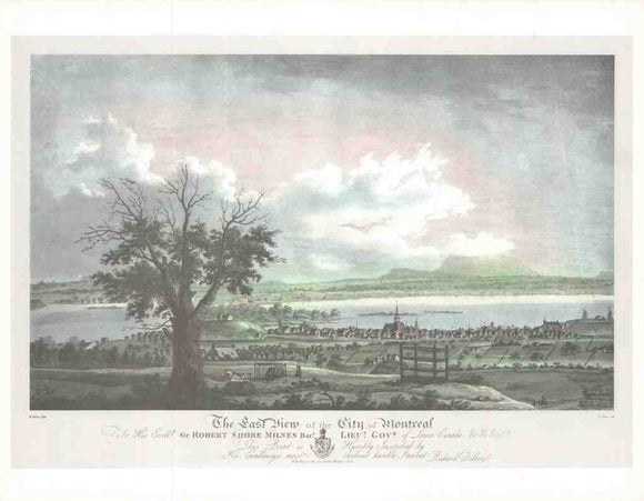The East View of the City of Montreal 1803