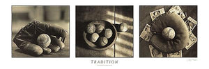 "Tradition by Judy B. Messer - 12 X 36"" - Fine Art Poster."