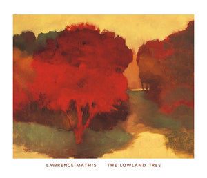 "The Lowland Tree by Lawrence Mathis - 28 X 32"" - Fine Art Poster."
