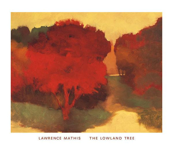 The Lowland Tree by Lawrence Mathis - 28 X 32