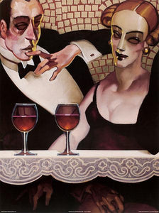 "Ladies and Gentlemen I by Juarez Machado - 24 X 32"" - Fine Art Poster."