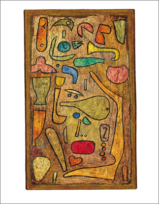 Multicolored, 1939 by Paul Klee - 24 X 32