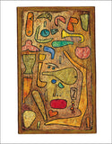 "Multicolored, 1939 by Paul Klee - 24 X 32"" (Watercolour / Aquarelle)"