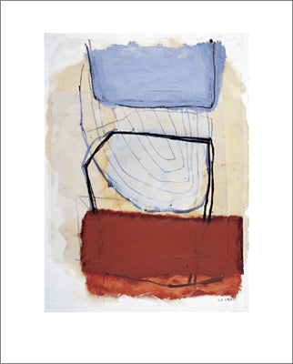 Untitled, 1998 by Sybille Hassinger - 24 X 32