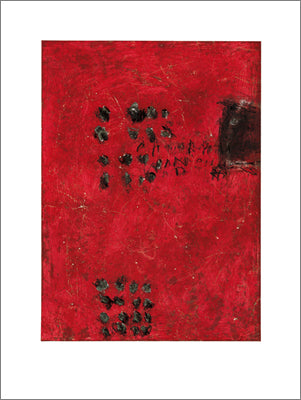 Untitled (Red) by Papastamos - 24 X 32