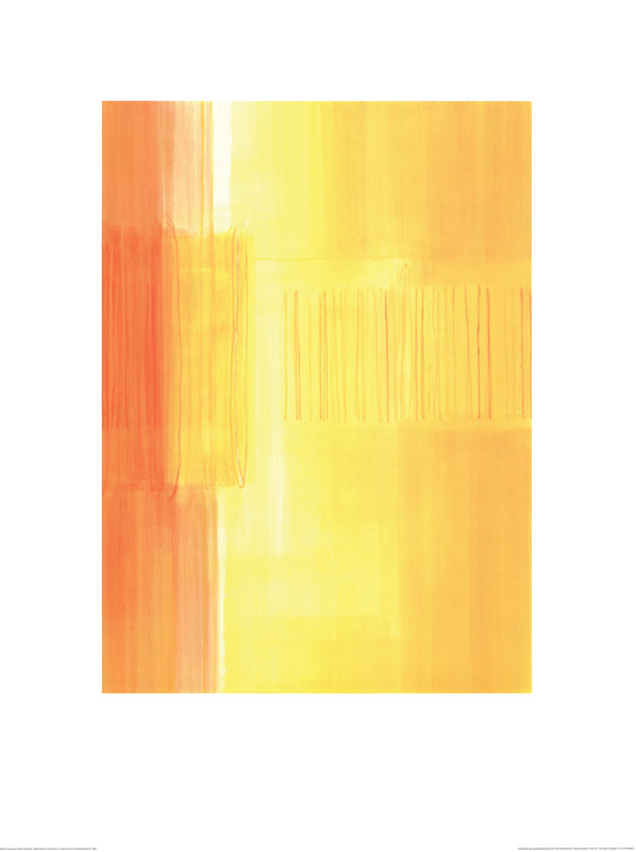 Untitled, 2003 (Yellow) by Susanne Stähli - 24 X 32