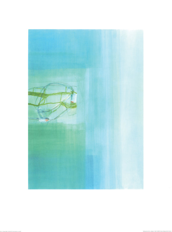 Untitled, 2003 (Blue) by Susanne Stähli - 24 X 32