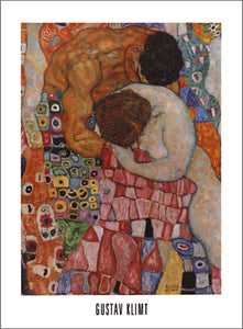 Death and Life, 1911 by Gustav Klimt - 24 X 32 Inches - Fine Art Poster.