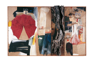 Allegory, 1959-60 by Robert Rauschenberg - 24 X 32 Inches - Fine Art Poster.
