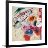 "Black Lines, 1913 by Wassily Kandinsky - 20 X 20"" (Offset Lithograph)"