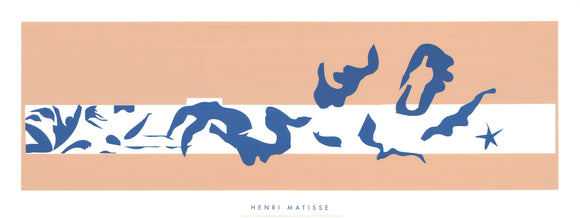 The Pool / La Piscine, 1952 by Henri Matisse - 20 X 51