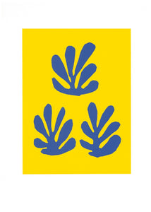 "Catalog Cover, 1951 by Henri Matisse - 20 X 28""-Silkscreen art print."