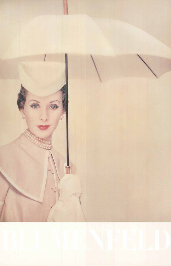 New York, 1950 by Blumenfeld - 24 X 36